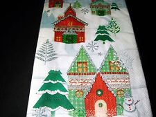 Punch Studio 16 Guest Towels Paper Napkins 3-ply Winterland Christmas 43229