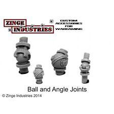 Zinge Industries Ball and Socket Joint Set x2 Mechanical Bits New S-BLJ01