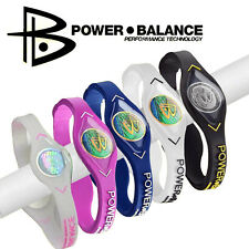 Power Balance Bracelet Hologram Silicone Original Strength Flexibility Brand New