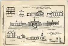 1912 Proposed Cripples Home Sheffield King Edward Memorial Arthur Kenyon
