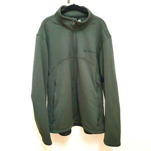 Beretta Men's Jacket Size 3x hunting Green long sleeve polartec 200 series