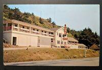 Mint Vintage Wildwood Lodge Gold Beach Oregon Real Photo Postcard RPPC