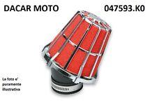 047593.K0 RED FILTER E5  PHVA/PHBN MIKUNI CROMATO Dell'Orto PHBL   20 25 MALOSSI