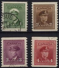 Handstamped Single North American Stamps
