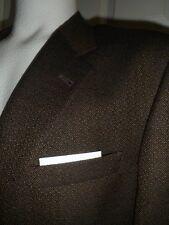 USA Unite DANIEL CREMIEUX 2 btn 42L Brown/Black Tweed Sport Coat Jacket blazer