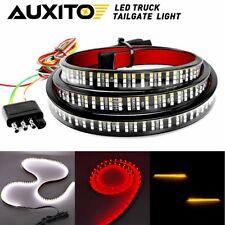"60""INCH Tailgate LED Light Bar Brake Reverse Turn Signal Stop Strip Pickup 3-Row"