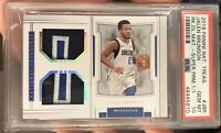 2018-19 National Treasures Jalen Brunson RC Rookie Patch 1/1 One Of One PSA 10