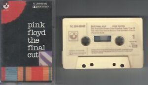 Pink Floyd    MC / Tape / Kassette   The Final Cut     ©   1983     EMI