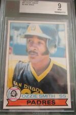 Blank Back! 1979 O-Pee-Chee Ozzie Smith MINT BVG 9 CENTERED Like PSA Topps RC