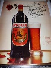 PICON BIERE votre bière mérite Picon 6 sets de table papier 42x30 cm PLIES