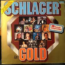 Various - Schlager In Gold LP VG+ LP 0120 600 Koch German 1982 Record 1st
