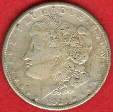 1921-S MORGAN SILVER DOLLAR - 90% SILVER  - LIGHT STRIKE - VF