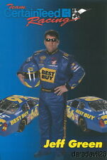 2006 Jeff Green Certainteed Chevy Monte Carlo NASCAR postcard