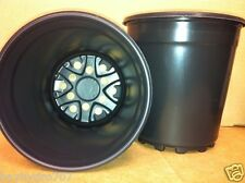 100pc Trade Sz 1 Gallon Plastic Nursery Container Flower Pots Lightweight Save $