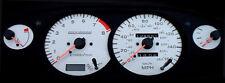Lockwood dial kit Nissan 200SX S14 1994-1996 White conversion face