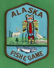 ALASKA FISH & GAME ENFORCEMENT SHOULDER PATCH
