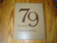 1979 North Carolinean Caroline County High School Yearbook Denton Maryland