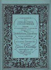 Collection Goudstikker: Catalogue No.36 (1928/29)  43 Tafeln   (numm. Exempl.)