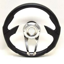 "Isotta Boat Steering Wheel 2290726 | 13 5/8"" Black"