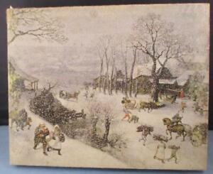 Vtg 1970 COMPLETE Springbok Winter Landscape Puzzle 500 Pieces van Valckenborch