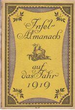 Île-Almanach sur l'année 1919 (1918)