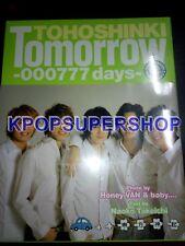 Tohoshinki Tomorrow Photobook Japan Ver 1st New Sealed 000777 Rare OOP TVXQ