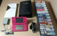 Nintendo DSi Game System With 13 Games, Instructions, Case & More...