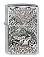 ZIPPO MOTOR BIKE emblema, moto, Collection 2010