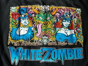 "White Zombie T-Shirt XL ""La Sexorcisto: Devil Music Vol. 1"" 1992 Original"