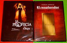 EL RESPLANDOR + LA PROFECIA / The Shining + The Omen -DVD R2- Precintada