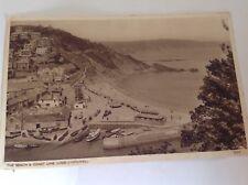 The Beach & Coast Line, Looe.Cornwall