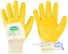 Stronghand Nitril gelb Handschuhe Arbeitshandschuhe 1-144 Paar Grö�Ÿen 7-11