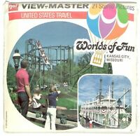 Worlds of Fun Kansas City 3D View-Master 3 Reel Packet FACTORY SEALED NEW  NIP