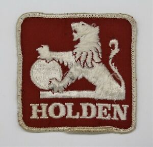 Holden Logo Embroidered Patch