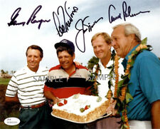 JACK NICKLAUS ARNOLD PALMER LEE TREVINO GARY PLAYER SIGNED 8x10 REPRINT PHOTO RP