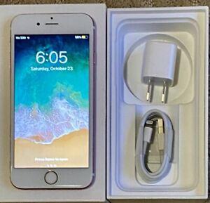 Apple IPhone 6S 128GB White/Gold Factory Unlocked 4G/LTE #103