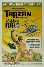 TARZAN AND THE VALLEY OF GOLD Movie POSTER 27x40 Mike Henry David Opatoshu