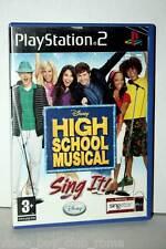 HIGH SCHOOL MUSICAL GIOCO USATO SONY PS2 ED PAL UK MICROFONI NON INCLUSI 36138