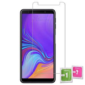 Pellicola in vetro temperato 9H per Samsung Galaxy A7 / A9 2018 proteggi schermo