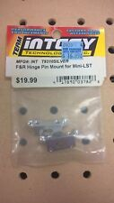 Integy T8310 Front & Rear Hinge Pin Mount Silver for Team Losi Mini LST  NIP NOS