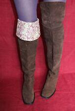 DOROTHEE SCHUMACHER LEDER Damen STIEFEL 39 Leather BOOTS OVERKNEE OVERKNEES UK6