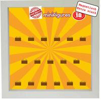 Magnetischer Setzkasten Vitrine für LEGO Minifiguren Motiv Serie 18