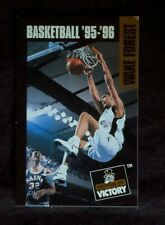1995-96 Wake Forest Basketball Schedule - Tim Duncan Spurs Superstar
