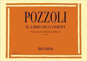 Pozzoli - IL LIBRO DEI COMPITI - Fasc. II - Ed. Ricordi