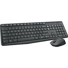 Logitech Wireless Kombo MK235, Desktop-Set