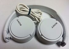 Sony Genuine MDR-ZX110 Stereo Over Ear Swivel Headphone WHITE MDRZX110