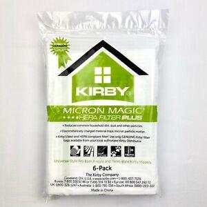 Genuine Kirby Avalir Micro Magic Allergen PLUS HEPA Vacuum Bags - 205814A, 20581