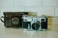 "1950! Kiev 2 35mm Film Camera + Jupiter 8 Red ""P"" Lens 2/50mm Contax 2 Copy"