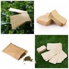 100 pcs New Small Kraft Paper Candy Bag Vintage Wedding Vogue Paper Seed bag