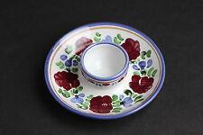 Stoob Graf Keramik Austria Handbemalt Bauernmalerei Blumen Form Eierbecher